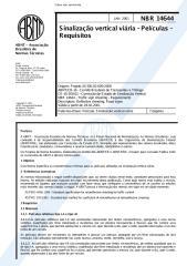 nbr 14644 - sinalização vertical viária - películas - requisitos.pdf