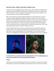 Next Gen is Now 14 R&B Soul Artists to Watch in 2019.docx