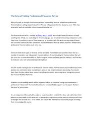 The help of Taking Professional Financial Advice.pdf