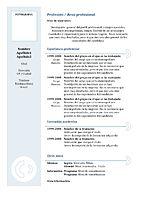modelo curriculum. curriculum-vitae-modelo3a-azul