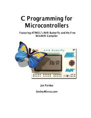 c programming for microcontrollers [avr].pdf