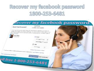 Recover my facebook password 1800-253-6481.pdf