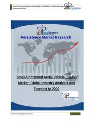 Small-Unmanned Aerial Vehicle (SUAV) Market.pdf
