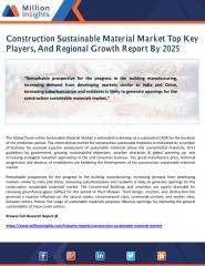 Construction Sustainable Material Market Top Key Players, And Regional Growth Report By 2025.pdf