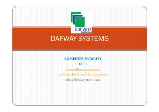 COMPUTER SECURITY - Dafway Systems.pdf