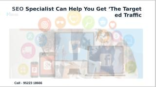 SEO Specialist Can Help You Get 'The Targeted Traffic .pptx