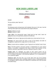 Saudi Labor Law - English - Complete.pdf