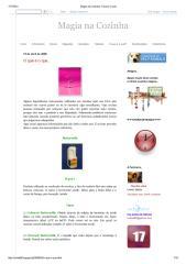 Magia na Cozinha_ O que é o que...pdf