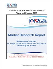 Global Cricket Bats Market 2017 Industry Trend and Forecast 2022.pdf