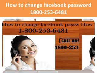 How to change facebook password 1800-253-6481.pdf