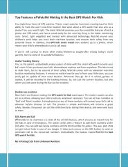 Top Features of Watchki Making It the Best GPS Watch For Kids.pdf