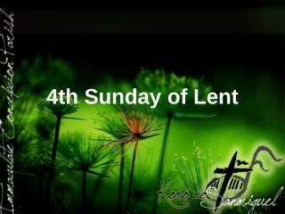 Lent Line up.ppt