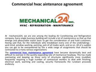 Commercial hvac aintenance agreement.pdf