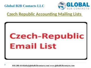 Czech Republic Accounting Mailing Lists.pptx