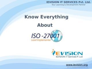 ISO 27001 Lead Implementer in Al Ahmadi.pptx