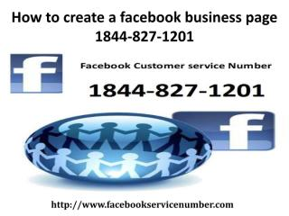 How to create a facebook business page 1844-827-1201 (2).pdf